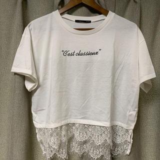 ヘザー(heather)の【Heather】Tシャツ(Tシャツ(半袖/袖なし))