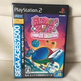 プレイステーション2(PlayStation2)のセガエイジス ファンタジーゾーン コンプリートコレクション PS2(家庭用ゲームソフト)