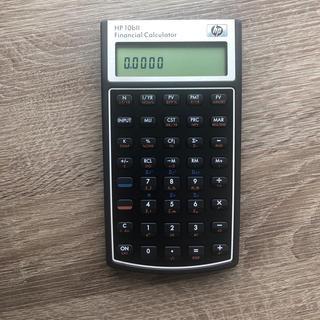 ヒューレットパッカード(HP)のHP 10bII 金融電卓(オフィス用品一般)