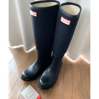 ハンター(HUNTER)のHUNTER ハンターレインブーツ 黒/UK6/25(レインブーツ/長靴)