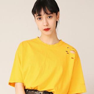 プニュズ(PUNYUS)のPUNYUS クラッシュTシャツ(Tシャツ(半袖/袖なし))