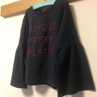ピンクラテ(PINK-latte)のピンクラテ フレアスリーブプルオーバー M(165)(Tシャツ/カットソー)