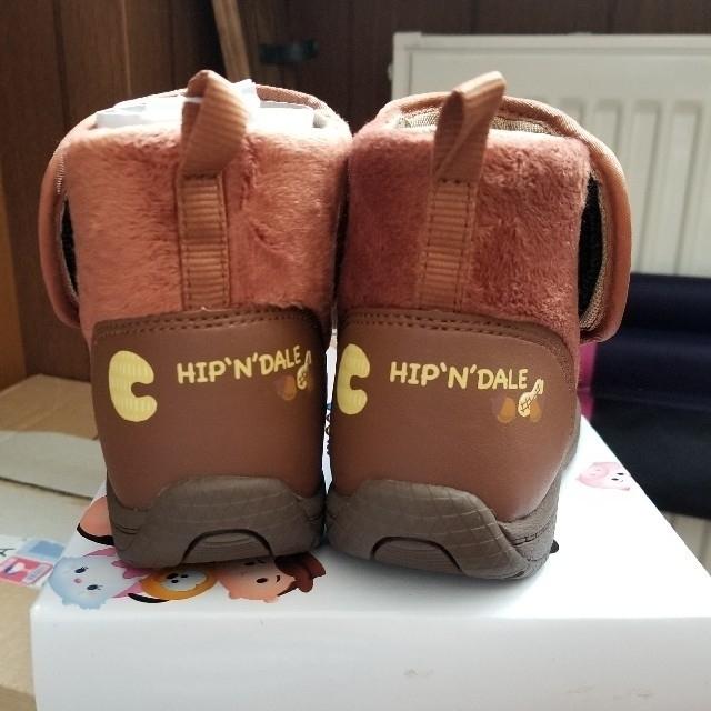 チップ&デール(チップアンドデール)のkiki様専用  ツムツム チップ&デール ブーツ キッズ/ベビー/マタニティのキッズ靴/シューズ(15cm~)(ブーツ)の商品写真