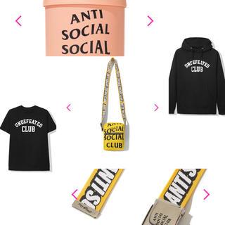アンチ(ANTI)の【送料無料】Anti Social Social Club【まとめ売り】(パーカー)