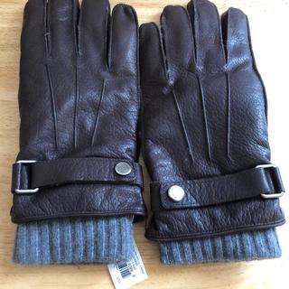 コーチ(COACH)のコーチ メンズ手袋 Lサイズ 新品未使用(手袋)