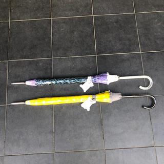 MOONBAT ムーンバット × cocca ビニール傘 長傘 傘 2本セット(傘)