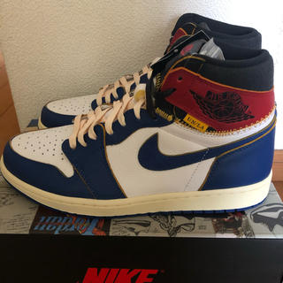 ナイキ(NIKE)のAIR JORDAN 1 RETRO HIGH OG UNION BLUE(スニーカー)