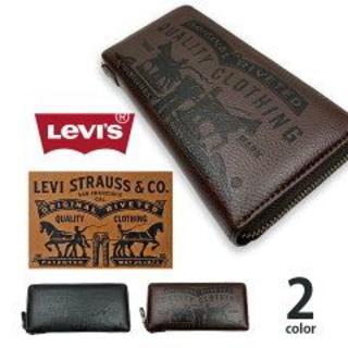 リーバイス(Levi's)のリーバイス ラベルパッチデザイン エコレザー使用 長財布 21128227(長財布)
