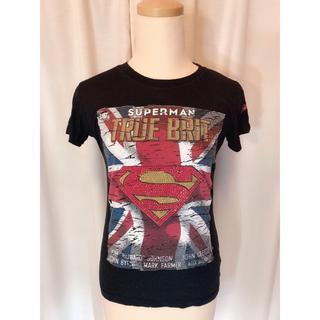 マーベル(MARVEL)の新品未使用【スーパーマン】ロゴTシャツ♡アベンジャーズ,マーベル好きな方にも(Tシャツ(半袖/袖なし))