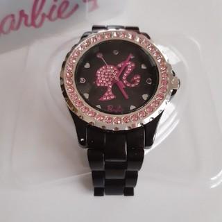 バービー(Barbie)の【美品】Barbie バービー 腕時計 ポニーテール ストーン(腕時計)