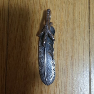 ゴローズ(goro's)の銀爪フェザー 【魔女の●●屋】様専用(ネックレス)