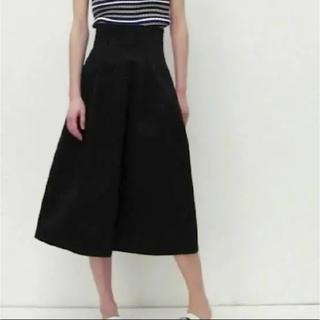 ルシェルブルー(LE CIEL BLEU)のルシェルブルー コットン  ハイウエスト スカート(ひざ丈スカート)