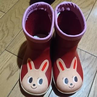 ミキハウス(mikihouse)のMIKI HOUSE うさこ 14㎝ 長靴 レインブーツ(長靴/レインシューズ)