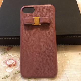 サルヴァトーレフェラガモ(Salvatore Ferragamo)のフェラガモ iPhone携帯ケース iPhone7/8ケースお値下げしました!(iPhoneケース)