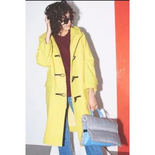 ミラオーウェン(Mila Owen)のミラ オーウェン ダッフルコート yellow 新品(ロングコート)
