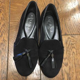 ダイアナ(DIANA)のDIANA ダイアナ パンプス タッセルローファー スエード(ローファー/革靴)
