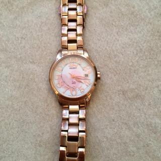オリエント(ORIENT)のオリエント io ピンクゴールド 腕時計(腕時計)