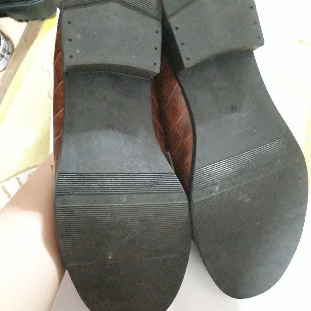 GU(ジーユー)のジーユー ビットローファー ブラウン レディースの靴/シューズ(ローファー/革靴)の商品写真