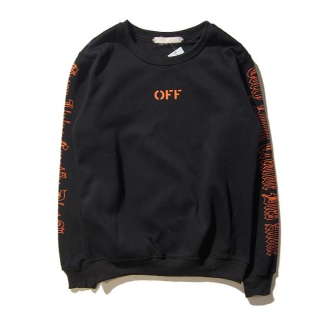 OFF-WHITE(オフホワイト)のスウェット Mサイズ ブラック メンズのトップス(スウェット)の商品写真