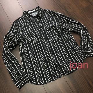 エイミーイストワール(eimy istoire)のeimyistoire   モノグラムシャツ(シャツ/ブラウス(長袖/七分))