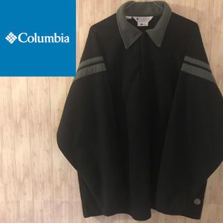 コロンビア(Columbia)の【激レア】コロンビア シャツフリース☆ビッグシルエット(ポロシャツ)