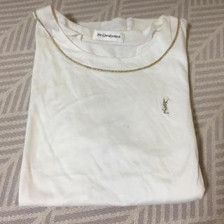 イヴサンローランボーテ(Yves Saint Laurent Beaute)のYSL 白Tシャツ(Tシャツ(半袖/袖なし))