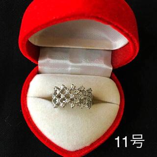 silverダイヤリング  #11  (リング(指輪))