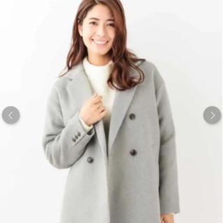 ジーユー(GU)のavv ジャケットコート 新品未使用(ピーコート)