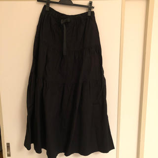 GRAMICCI - グラミチ マキシ スカート ブラック オールシーズンほぼ新品定価13000円程