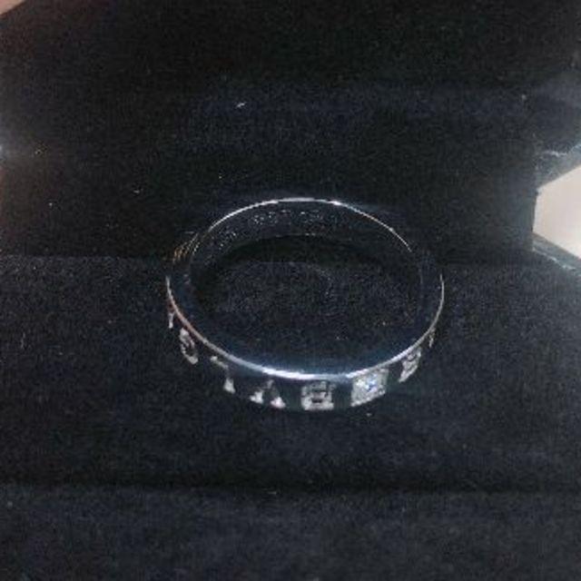 BVLGARI(ブルガリ)のブルガリ★ブルガリブルガリ ダブルロゴ 1P ダイヤリング 52 レディースのアクセサリー(リング(指輪))の商品写真