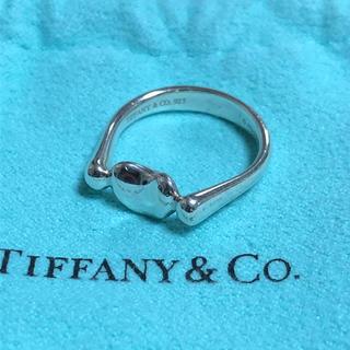 ティファニー(Tiffany & Co.)の美品 ティファニー ビーンズ シルバー リング(リング(指輪))