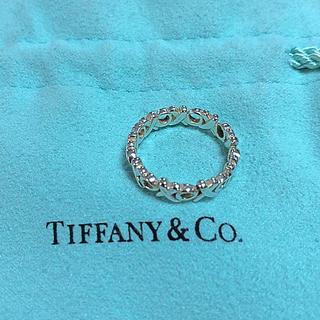 ティファニー(Tiffany & Co.)のティファニー  パロマ ピカソ ラブ&キス シルバー ピンキー リング(リング(指輪))