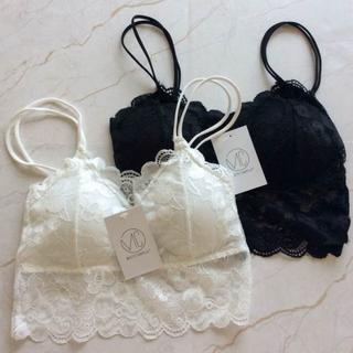 新品 白黒セット(ブラ&ショーツセット)