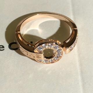 ブルガリ(BVLGARI)の BVLGARI  ダイヤモンド リング ピンクゴールド(リング(指輪))