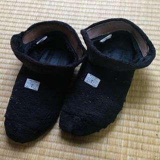クロックス(crocs)のクロックス 中底 冬 もこもこ ムートン ブーツ egg  (スリッポン/モカシン)