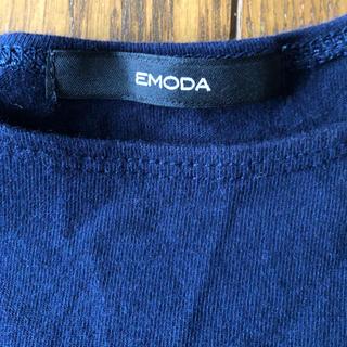 エモダ(EMODA)のEMODAショート丈Tシャツ(Tシャツ(半袖/袖なし))