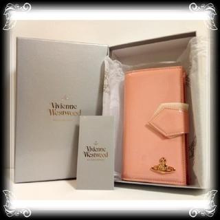 ヴィヴィアンウエストウッド(Vivienne Westwood)の②一点 入手困難 新品 ヴィヴィアン 手帳型 財布 イタリア製 Vivienne(財布)