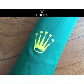 ロレックス(ROLEX)のROLEX ロレックス 特大 ゴルフ パラソル アンブレラ ジャンプ傘 長傘(傘)