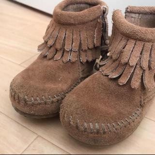ミネトンカ(Minnetonka)のミネトンカ 二回着用の美品ブーツ サイズ5(ブーツ)
