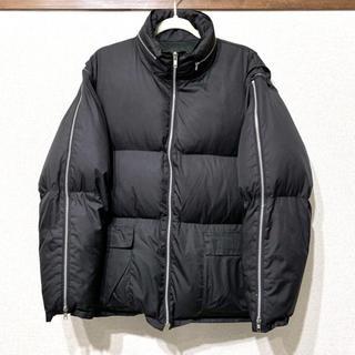 ヨウジヤマモト(Yohji Yamamoto)のヨウジヤマモト  ジップデザイン ダウンジャケット AAR ダーバン(ダウンジャケット)