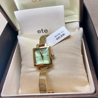 エテ(ete)のエテ❤︎腕時計 【電池交換済み】(腕時計)