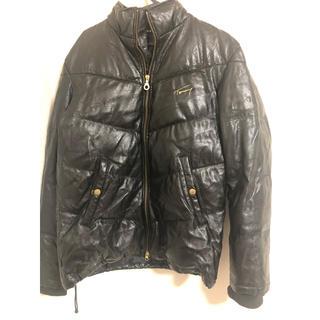 トミー(TOMMY)の冬服 TOMMY ダウンジャケット ブラック バイク(ダウンジャケット)