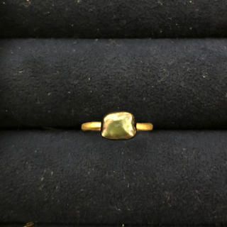 アガット(agete)のクアラントット タヒチパールリング10号(リング(指輪))