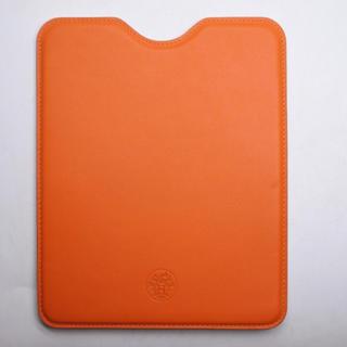 エルメス(Hermes)のHERMES エルメス IPAD 2 ケース オレンジ  タブレットケース 正規(iPadケース)
