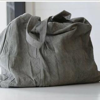 ネストローブ(nest Robe)のsea side freeride スエード トートバッグ baby gray(トートバッグ)