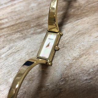 グッチ(Gucci)のGUCCI ゴールド ウォッチ(腕時計)