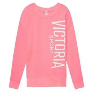 ヴィクトリアズシークレット(Victoria's Secret)の新品 ヴィクトリアシークレットスポーツ 薄手トレーナー Lサイズ(トレーナー/スウェット)