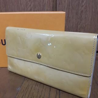 ルイヴィトン(LOUIS VUITTON)の    値下げ   !!!!! ルイヴィトン モノグラム ヴェルニ長財布 (財布)