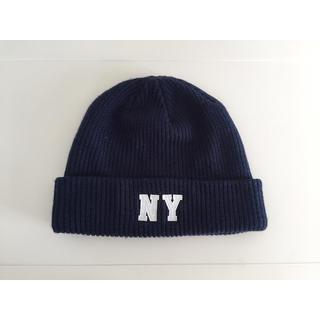 ウィゴー(WEGO)のNY ニット帽(ニット帽/ビーニー)
