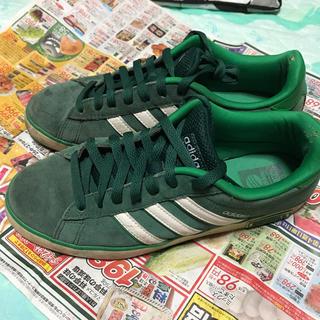 アディダス(adidas)のアディダス 緑シューズ(スニーカー)